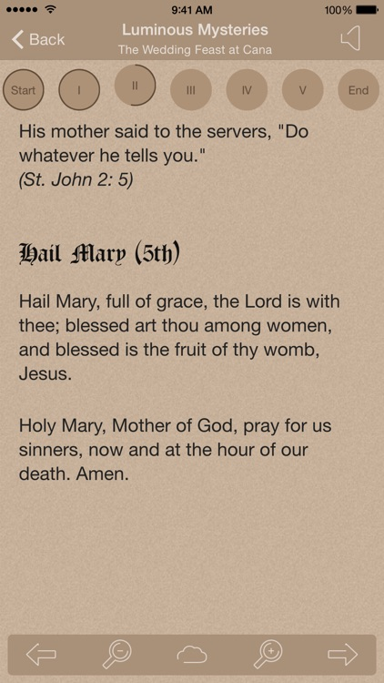 Scriptural Rosary Lite screenshot-3