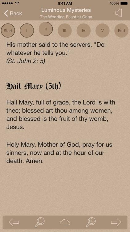 Scriptural Rosary Lite screenshot-3