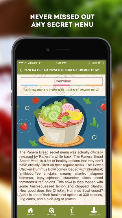Secret Menu for Panera Bread screenshot-3