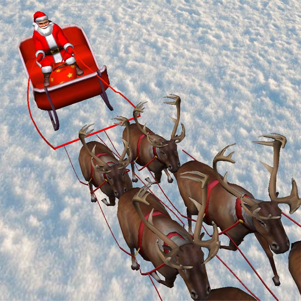 Santa's Sleigh 3D