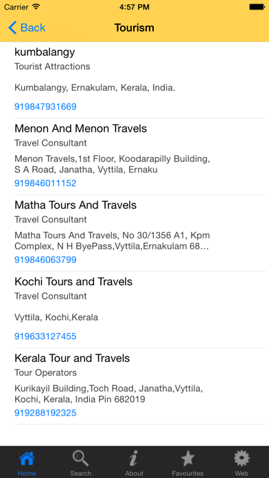 Yellow Pages Kerala App | App Price Drops