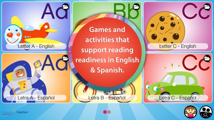 BrightStart! - ABC Reading and Learning for Preschool and Kindergarten Children by Nemours screenshot-0