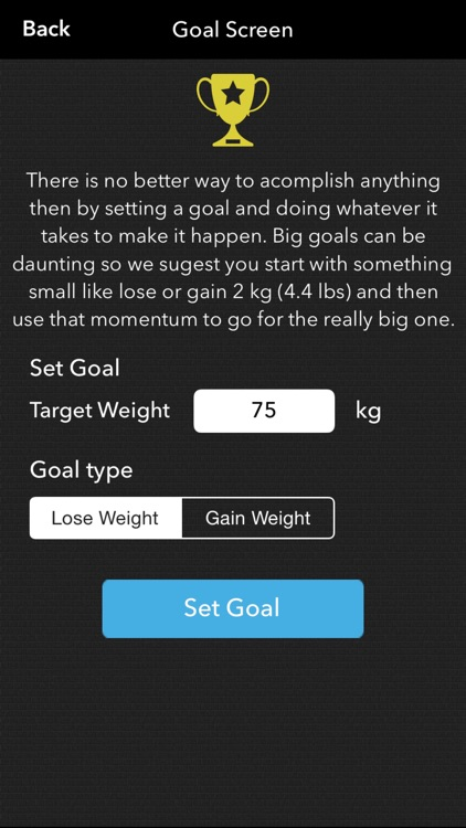 Mighty Scale -  Simple Weight Loss And Body Metrics Tracker