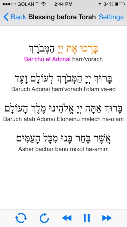 iBless Torah screenshot-0