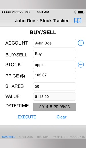 stock tracker sl14 on the app store
