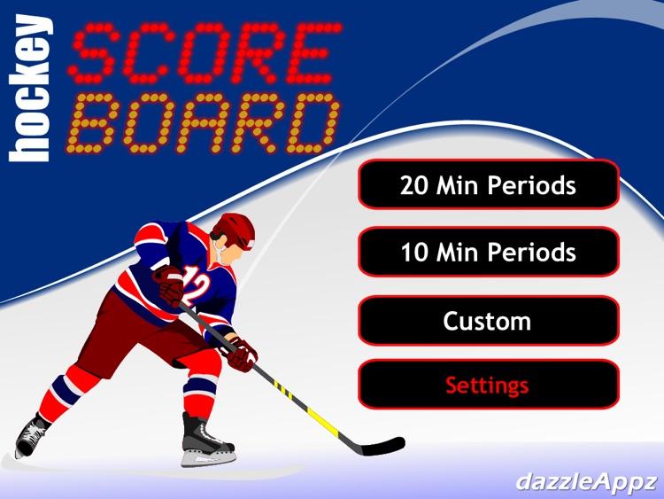 JD Hockey Scoreboard