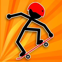 Stickman Hoverboard Rider Hero
