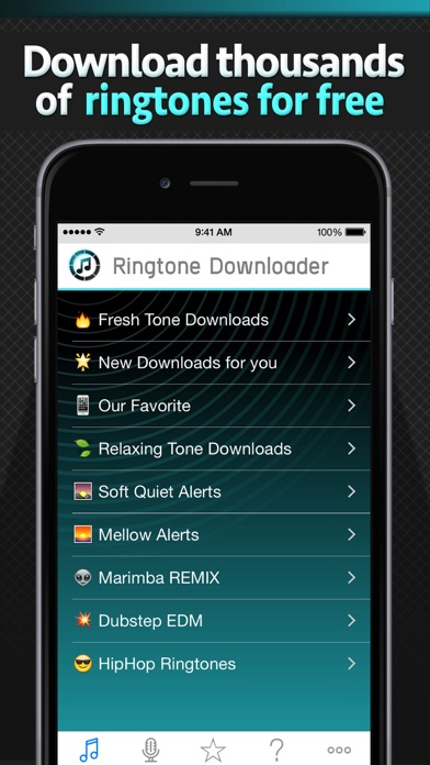 download free ringtone app