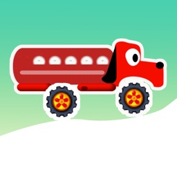 Christmas Truck - To Steer An Animal Truck in Chirstmas