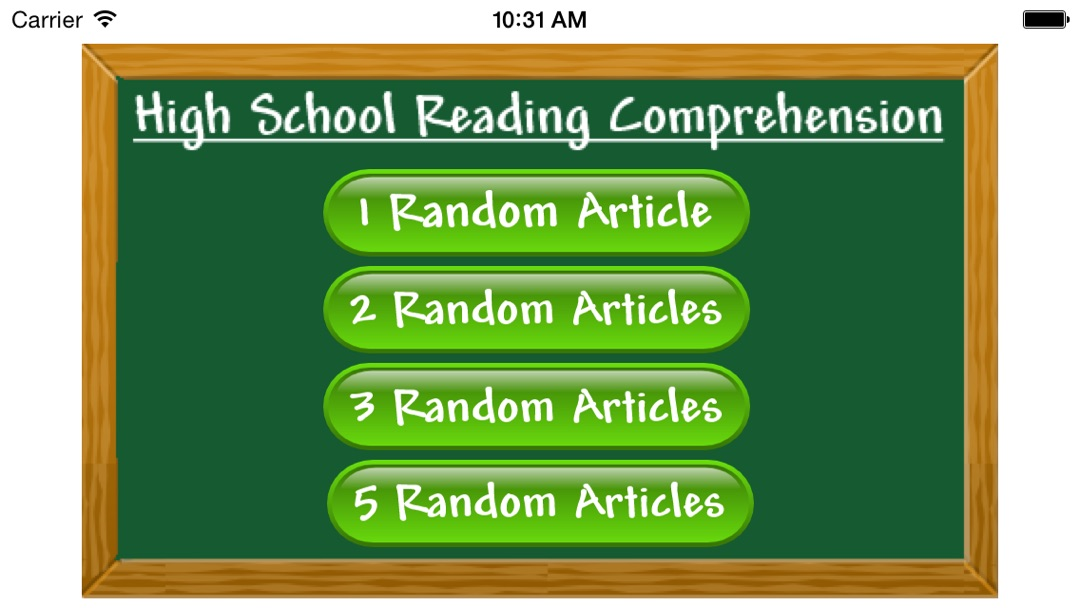 Reading Comprehension - High School - Online Game Hack and