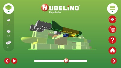 Kugelbahn 3D von HubelinoScreenshot von 2