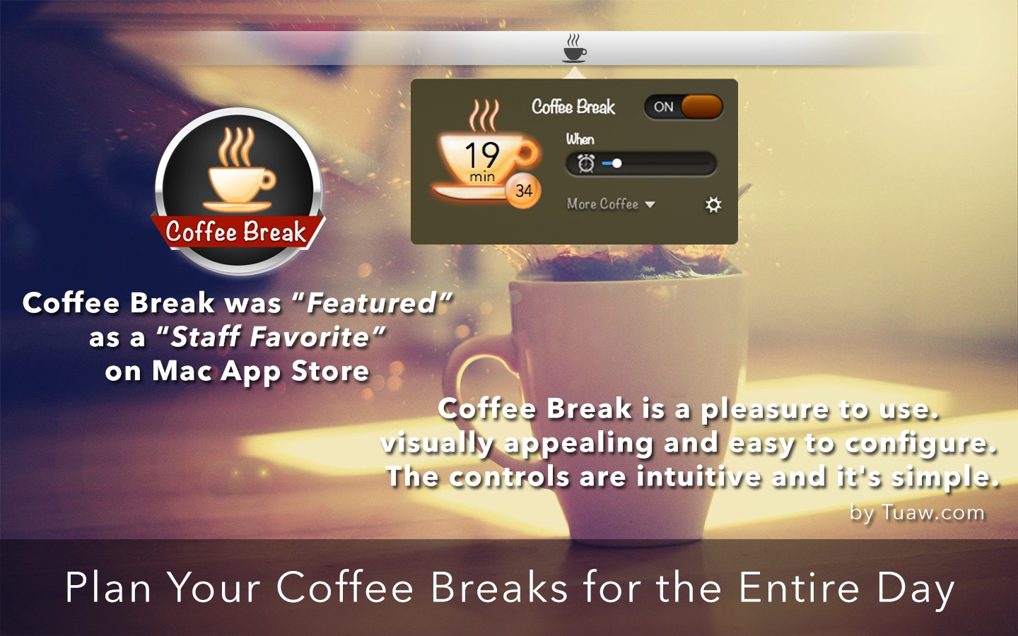 ‎Coffee Break on the Mac App Store