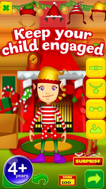 Santas Christmas Elf Game - Free App screenshot-4