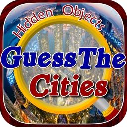 Hidden Objects:Guess the city hidden object