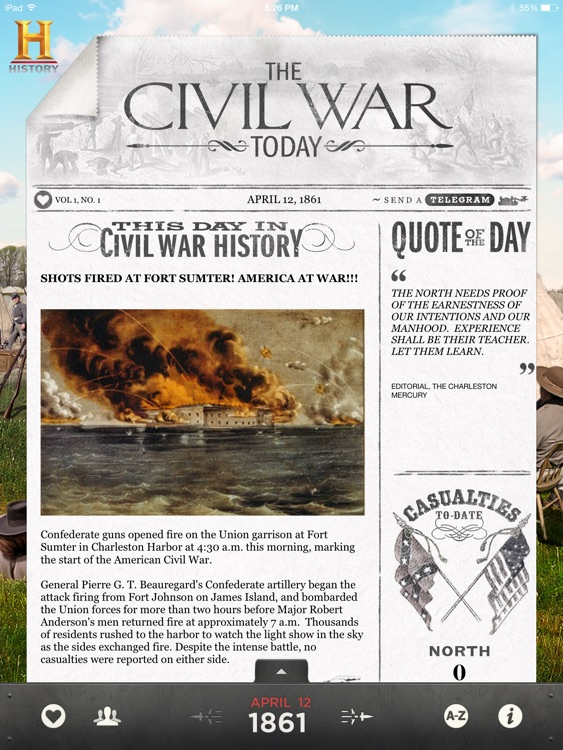 The Civil War Today screenshot-0
