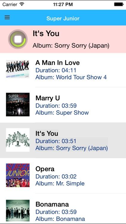 K-POP Music - Free screenshot-3