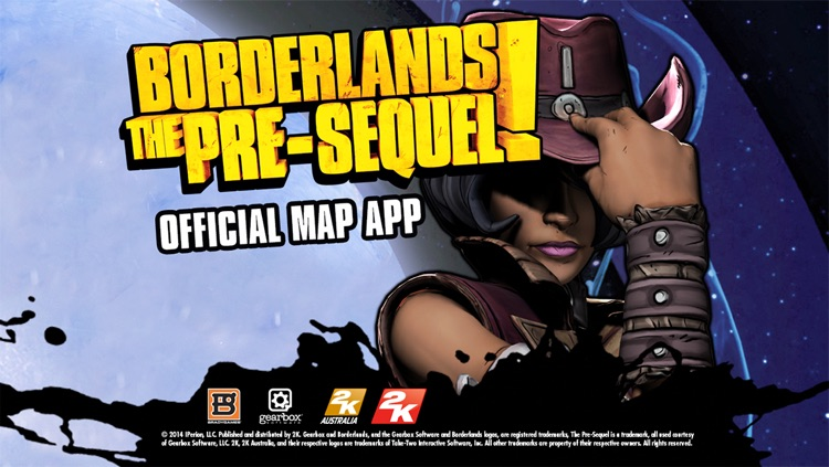 Official Map App for Borderlands: The Pre-Sequel screenshot-0