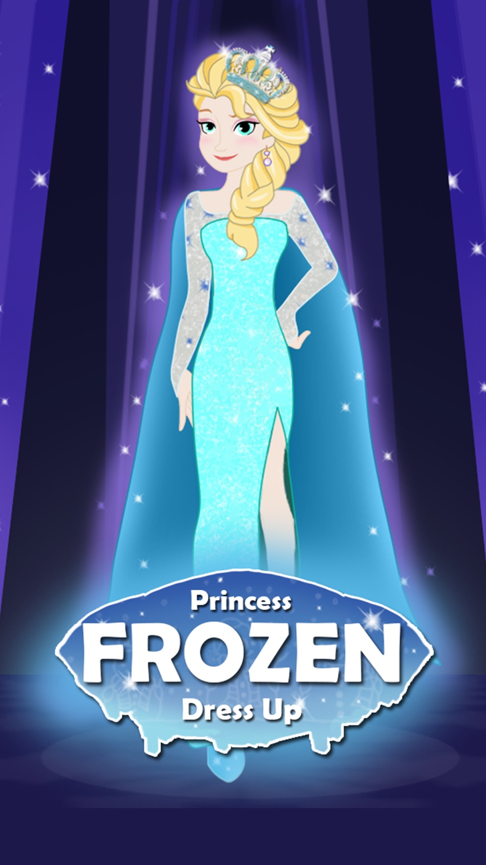 Princess Frozen Dress up and makeover beauty salon for girls Cheat Codes