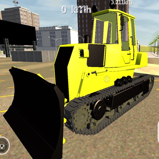 Big Construction Bulldozer Driving 3D - Heavy Vehicle Driver Simulator Game