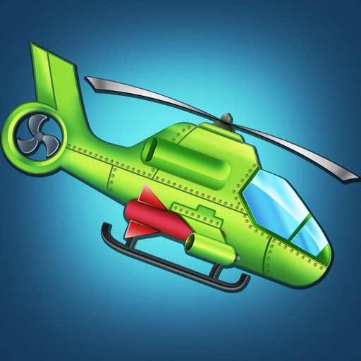 A1 Helicopter Monster Rampage - cool airplane shooting mission game icon