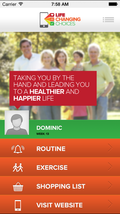 LIFE CHANGING CHOICES - ROUTINE
