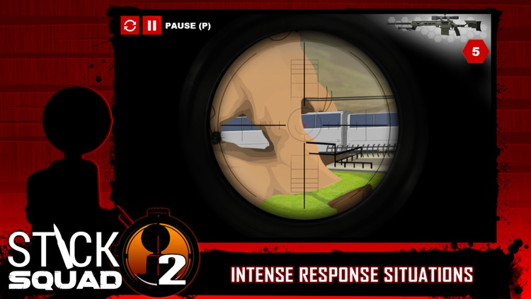 Stick Squad 2 - Shooting Elite screenshot-3