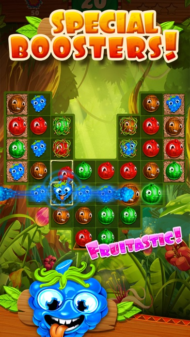 Jungle Jam - Juicy Fruit Match-3 Game screenshot three