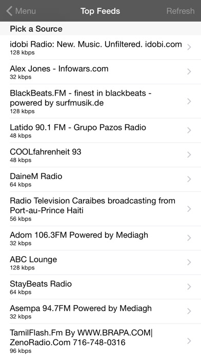 Hidef Radio Pro review screenshots