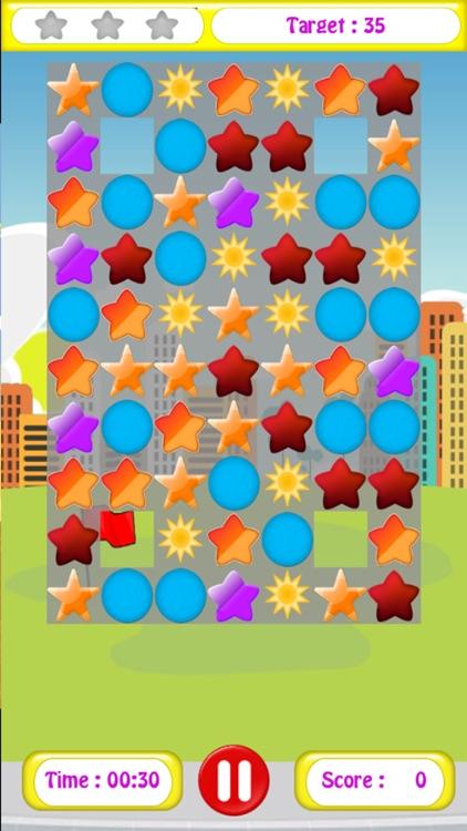 Stars Matching Puzzle
