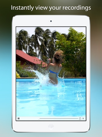 Reverser Cam - Backward Video Camera ipad images