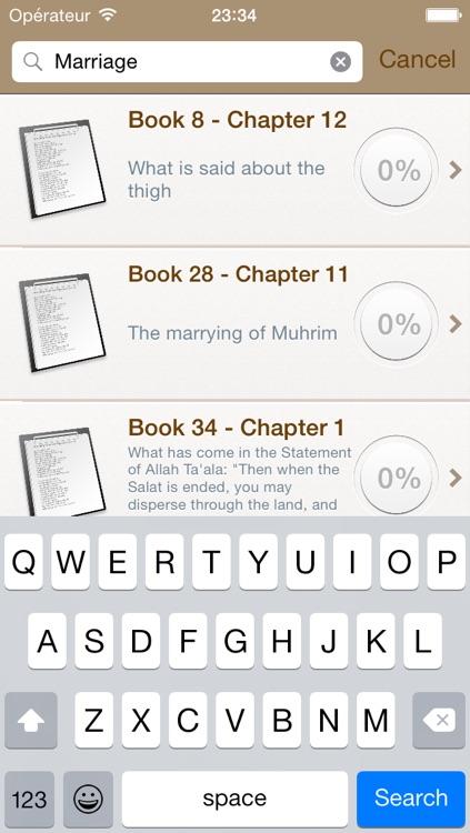 Sahih Bukhari Audio mp3 in Arabic and Text in English screenshot-4