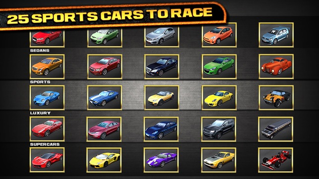 3D Real Test Drive Racing Parking Game - Free Sports Cars