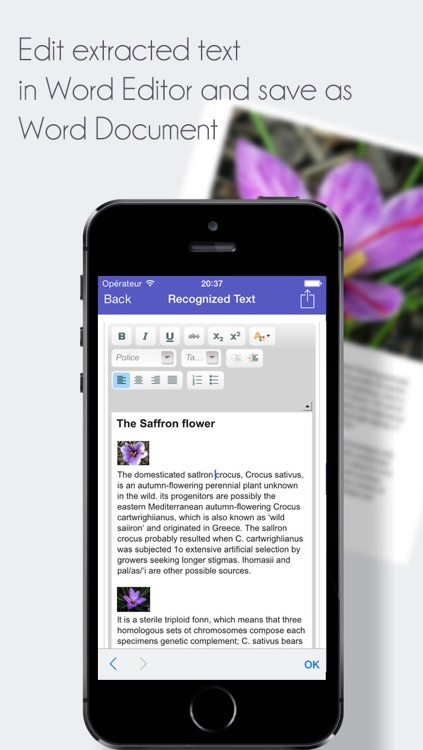 TextExtractor Scanner - Scan PDF and Extract Text as Word Documents screenshot-2