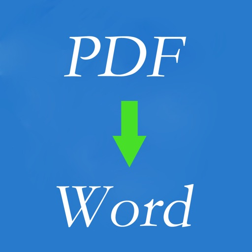 PDF2Word Edition - for Convert PDF to Word Document, PDF Viewer, File Manager