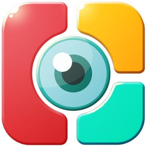 Art Photo Studio- Shape Collage - Magazine Photo Effects iOS App