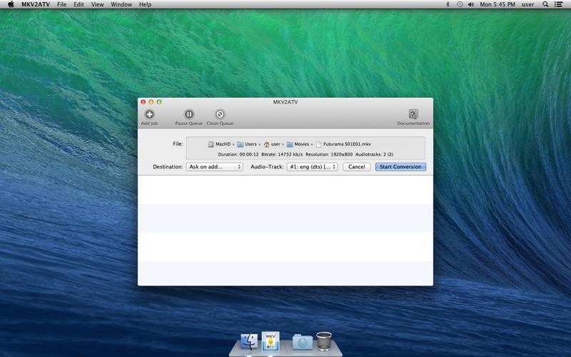 MKV2ATV for Mac
