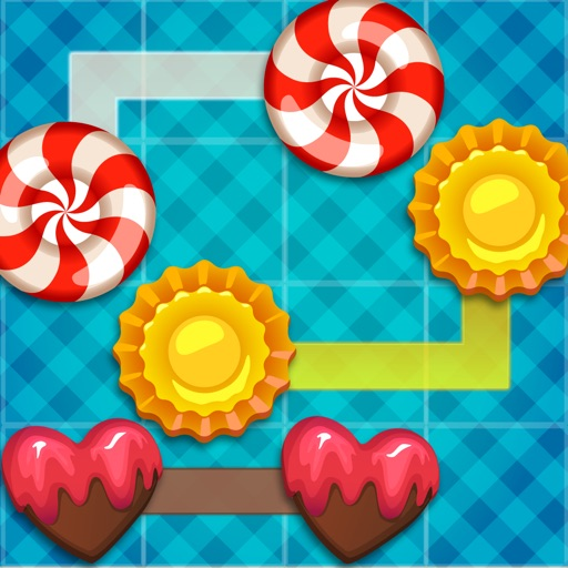 ' A Candy Connect Sweet Treat Path – Free Logic Game