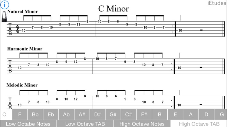 Minor Scales Guitar screenshot-4