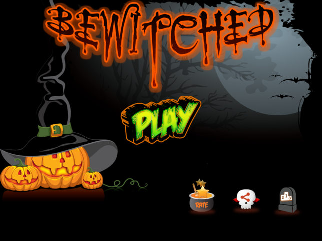 Bewitched : Halloween Run, game for IOS