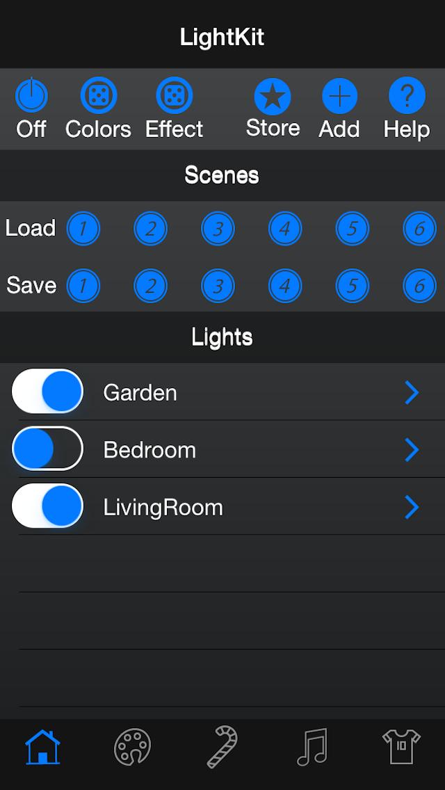 LightKit RGB screenshot one