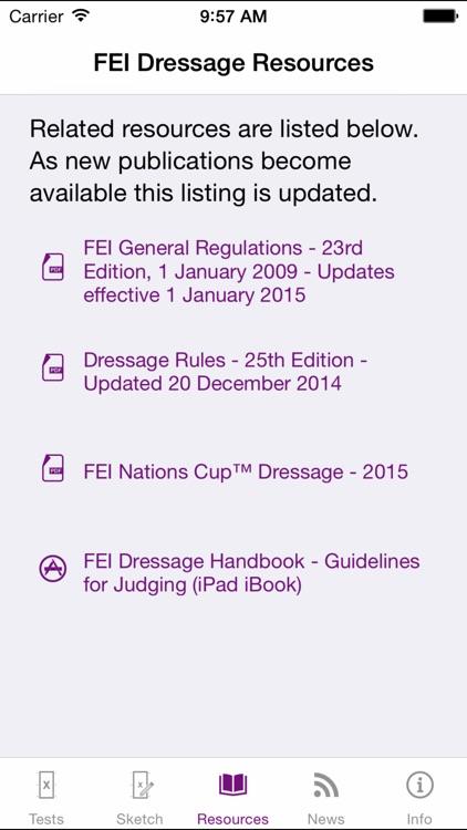 FEI EquiTests 3 - Dressage Tests screenshot-3