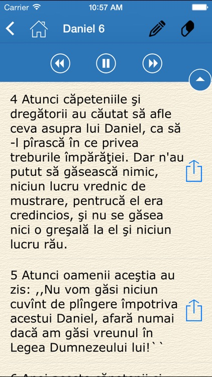 Audio Bible - Biblia Cornilescu (The Holy Bible in Romanian) screenshot-2