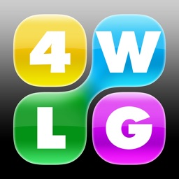 Four Word Link Game: Genius Edition HD