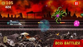 ロケット列車の戦い:列車対ロボット / Battle Trains Rocket Railroad: Subway Rail Surfers Rush & Run Train Gameのスクリーンショット5
