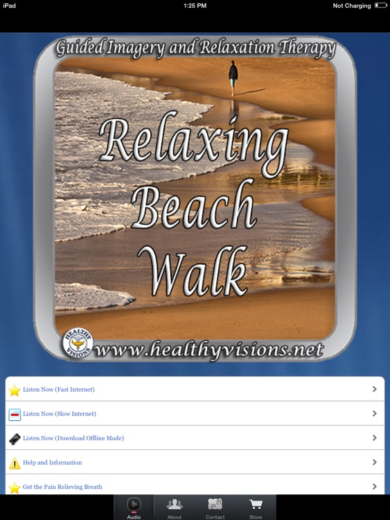 Relaxing Beach Walk for iPad screenshot-0