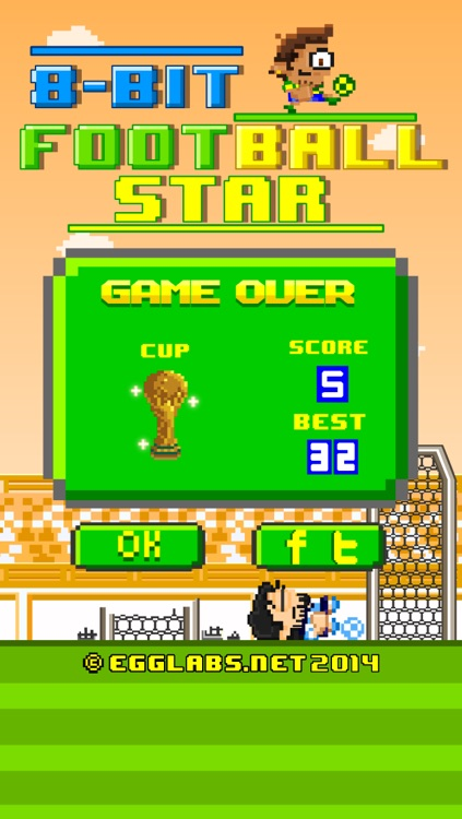 8-bit Football Star - Play Free Retro Pixel Soccer Games screenshot-3