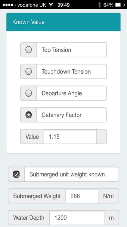Catenary Calculator screenshot-4