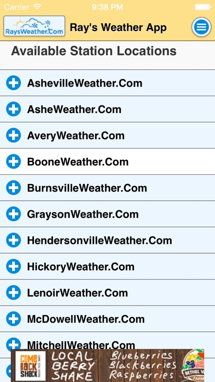 RaysWeather.Com App screenshot-3