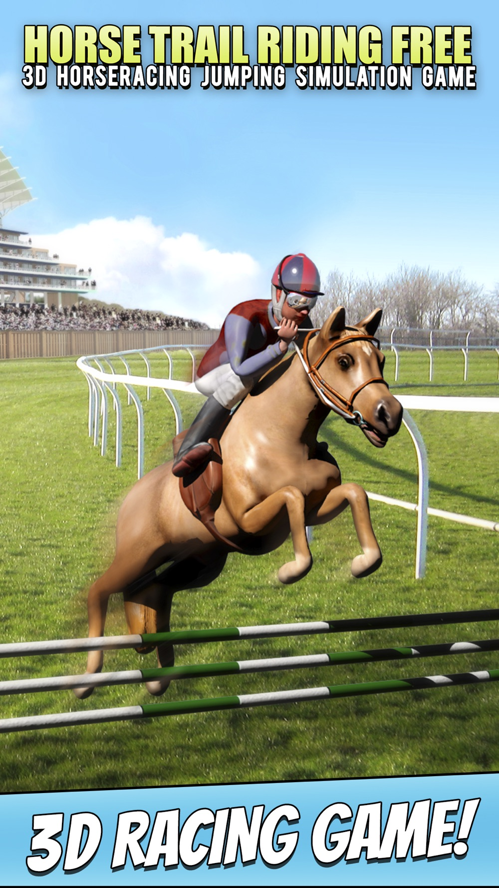 Horse Trail Riding Free – 3D Horseracing Jumping Simulation Game