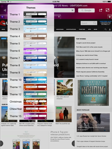 Fast Web Browser - New automatic full screen firefox chrome like themes  edition | App Price Drops